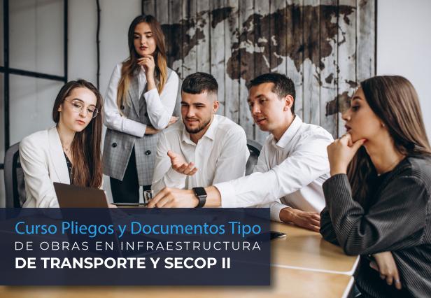Curso Pliegos y Documentos Tipo de Obras en Infraestructura de Transporte y SECOP II