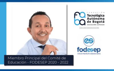 FODESEP designa como miembro principal de su comité a rector FABA