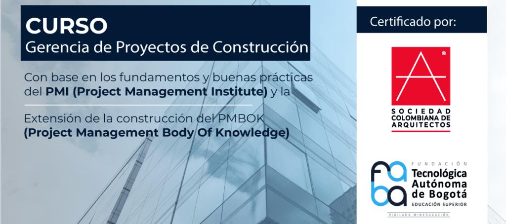 Imagen curso Proyectos de Construcción Tecnológica Autónoma de Bogotá