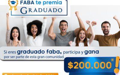 FABA premia a sus graduados