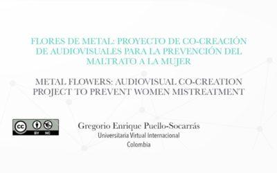 Flores de metal; proyecto contra el maltrato a la mujer que inició en FABA